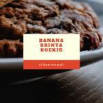 Banana-Brinta koekje