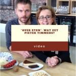 """Medewerking van Inge De Ridder aan het Programma """"Over Eten"""""""